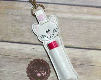 Lip Balm, Chapstick, Flash Drive, USB Drive Holder - Cat