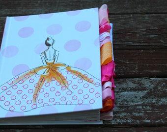 Girl in Dress Altered Journal
