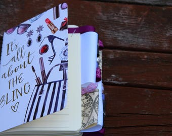 It's All About the Bling Altered Journal
