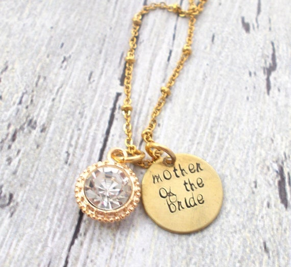 Mother Of The Bride Jewelry: Mother Of The Bride Necklace Mother Of The Groom Necklace
