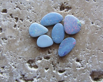 Natural Opal Doublets 6 stones