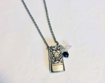Ornate Aromatherapy Necklace - Coronation - Essential Oil Jewelry - Gift for Her