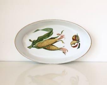 Royal Worcester Evesham Gold Porcelain Baking Dish