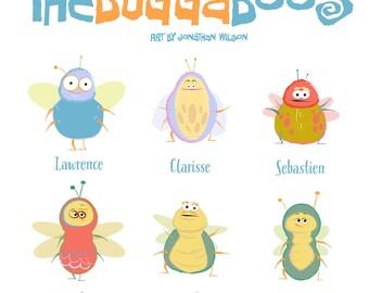 Meet the Buggaboos - Cartoon Bug Starter Pack