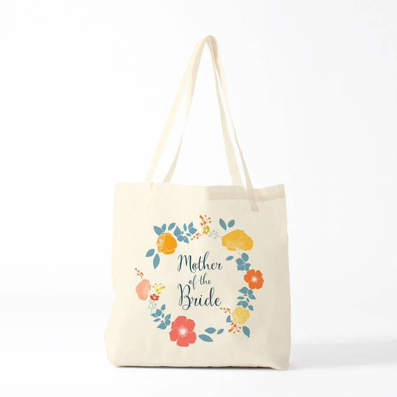 Mother of the Bride, tote bag, wedding, canvas bag, gift mother, gay wedding, lesbian wedding.