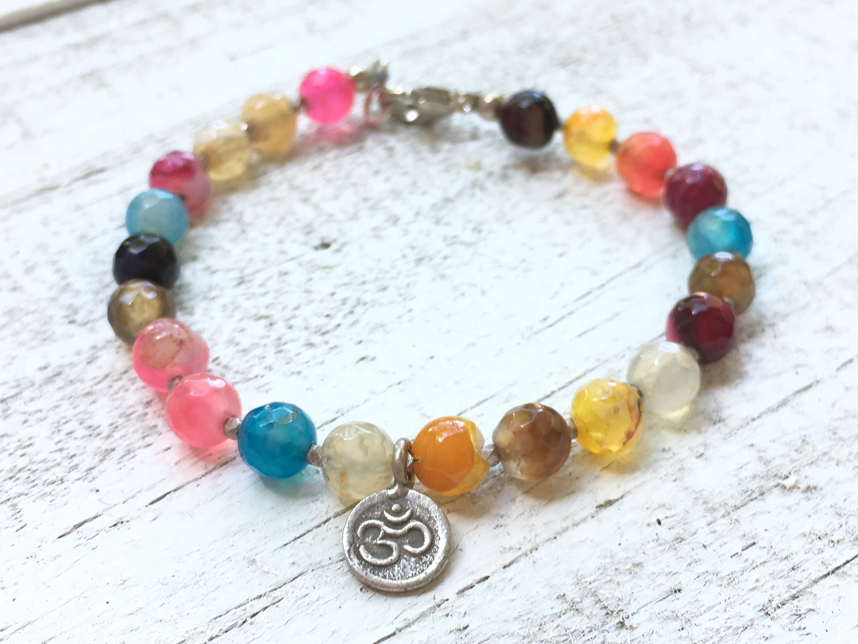 products bracelet stone wrap hamsa bead karma luck multi img and colored