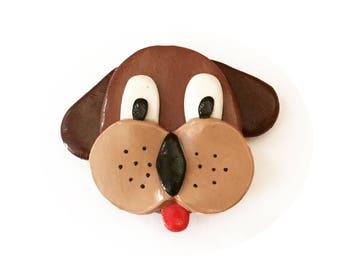 Dog Magnet - Pet Magnet - Fridge Magnet - Dog Gift - Polymer Clay Magnet - Refrigerator Magnet - Cute Dog Decoration - Doggie Magnet