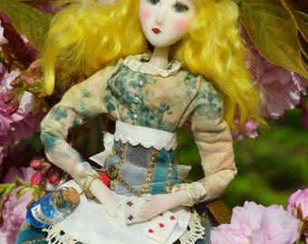 Alice in wonderland - dolls-  steampunk