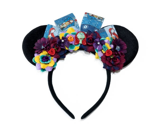 Sally Mouse Ears Headband