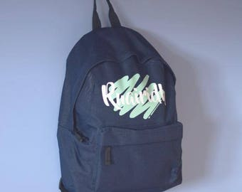 SCRIBBLE Backpack - Childrens / Toddler / Kids / Baby / Boy or Girl / Personalised with Name / For Nursery School Bag