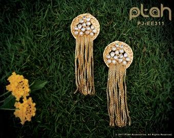 Ptah Tassel Earrings: PJ-EE311