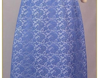 Lace & Satin Skirt