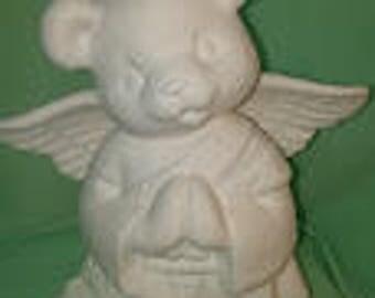 Boy Christmas Angel Bear