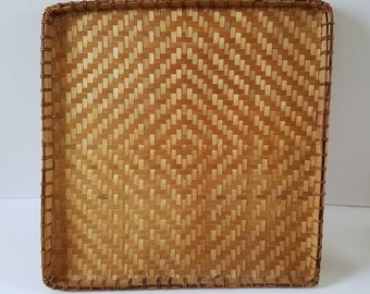 Vintage Rattan | Woven Wall Hanging