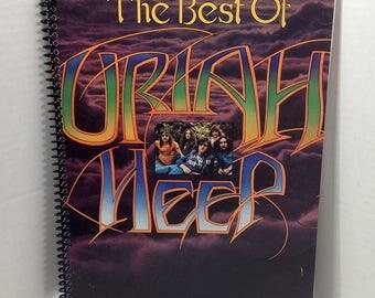 Uriah Heep Album Cover Notebook Handmade Spiral Journal Blank Composition Book