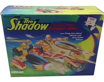vintage The Shadow Serpent Bike action figure toy kenner 1994  NICE