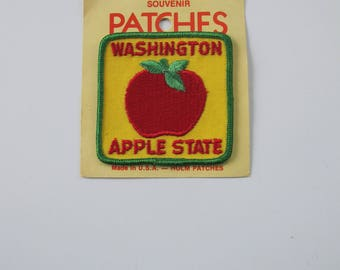 Vintage patch - Washington Apple State - Holm Patches
