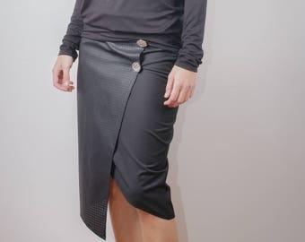 Black Tunic / Black Top / Oversize Tunic/ Woman black tunic