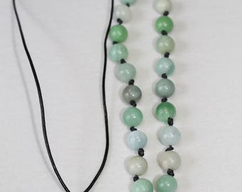 Chinese Coin Necklace, Beaded Necklace, Simple String Necklace