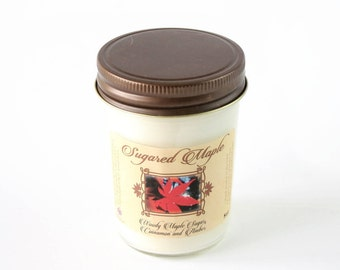 Sugared Maple Scent - Natural Soy Candle