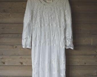Lace Florence Midi Dress