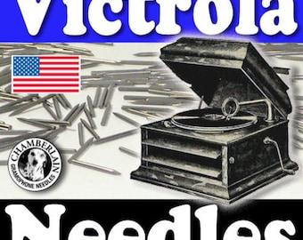 300 MEDIUM polished Gramophone NEEDLES for Vintage Victrola Phonograph 78rpm Shellac Records ETSY