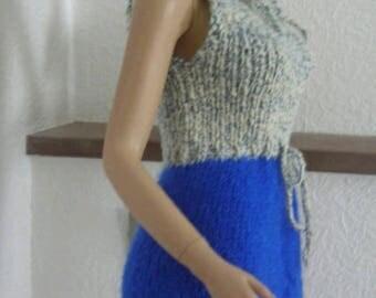 Mohair dress Balaclava