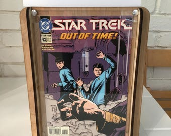 Star Trek Comic Storage Box - Handcrafted comic box and included 1994 Star Trek #62 comic with Free Shipping