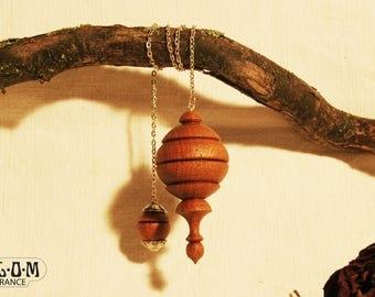 Pendulum dowsing mahogany