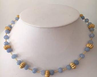 Jade and Gold Necklace