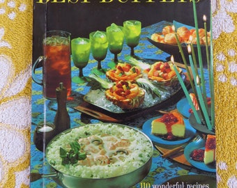 Vintage 60s Best Buffets cookbook Better Homes & Gardens publication - a retro classic!