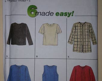Simplicity Pattern Size 6-10  #7381