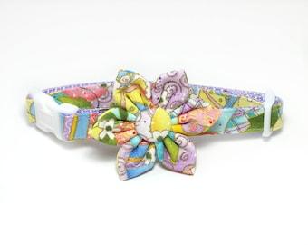 Easter Eggs Dog Collar Set, flower for dog collar, wedding flower, pet collar flower, collar flower