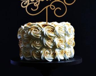 Better Together Wedding Cake Topper.