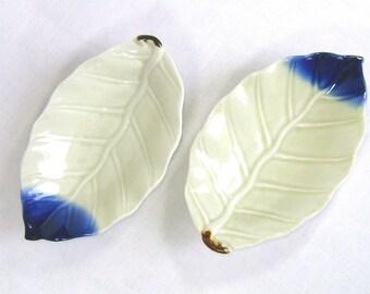 Japanese Ash Leaf Appetizer Plates