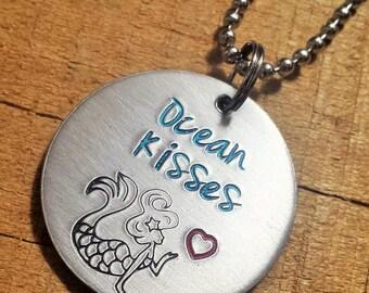 Mermaid Necklace - Mermaid Jewelry - Mermaid Accessory - Beach Jewelry - Beach Accessory - Beach Necklace