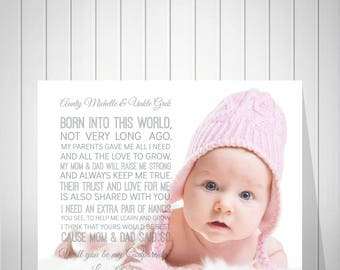 Will You Be My Godparents Print, Will You Be My Godmother Card, Godmother Greeting Card, Godparents Proposal Gift, Unborn Baby Poem - 51277