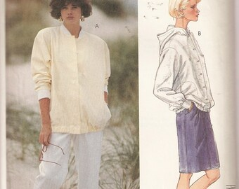 VINTAGE McCall's Sewing Pattern 2913 - Women's Clothes - Misses Jacket, Skirt and Pants, Size 14