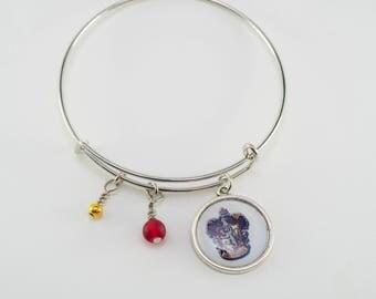 Gryffindor Harry Potter Bangle Bracelet