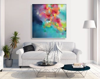 Abstract Art Painting | Modern Abstract Painting | Abstract Art Canvas Print | Modern Art Print | Original Abstract Painting | Home Decor