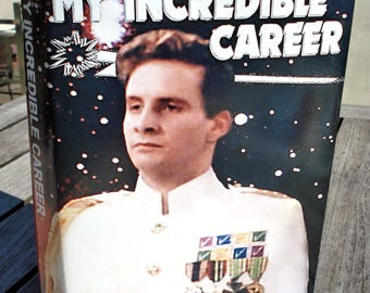 "Red Dwarf Rimmer ""My Incredible Career""- Just the Book Cover"