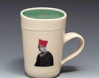 RBG with pussy hat mug (1)