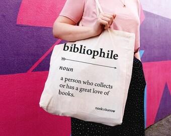 BIBLIOPHILE | Tote Bag