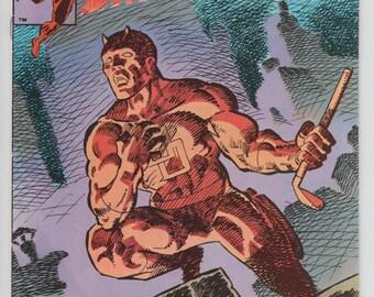 Daredevil #191 Last Frank Miller Issue Cover Artwork 1983 Marvel Comic Book 1980s