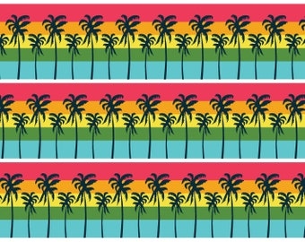 Swaying Palms Washi Tape