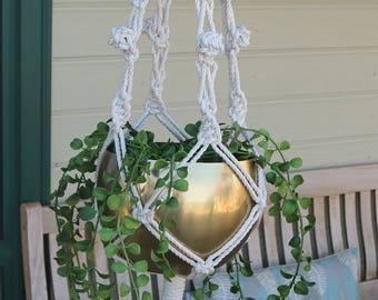 Lesley Pot Hanger DIY Macrame Kit