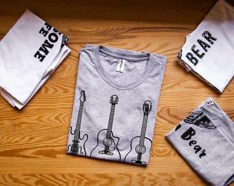 Guitar shirt / Guitarists tshirt / Bass guitar shirt / Guitar nerd shirt / Guitar shirts / Guitar t shirt / Guitar t-shirt