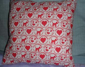 Clifford the Big Red Dog Pillow
