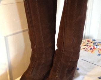 Vintage 70s BAMA Lammy Boots Eur 42/UK 8/US 10,5