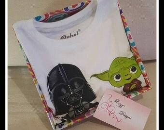 Star Wars Darth Vader and Yoda  T-Shirt